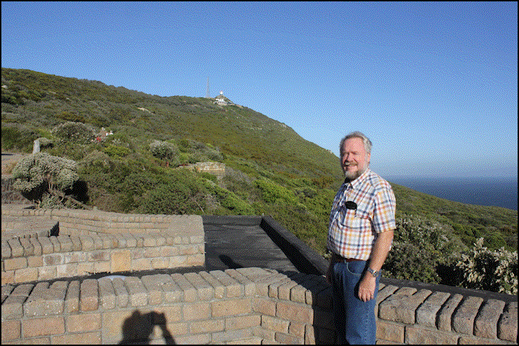 Michael at Cape Point - 2016